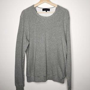 Rag & Bone Gray Classic Crew Neck Sweater